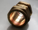 28mm Brass Compression Slip Coupling - 24902199